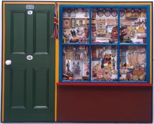 The Toy Shop 1962 Peter Blake born 1932 Purchased 1970 http://www.tate.org.uk/art/work/T01175