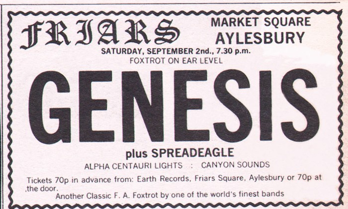Genesis-gig-ad-Sept-2nd-1972