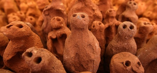 Anthony Gormley's Terracotta Figures Return To Their Birthplace