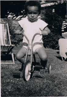 Our David on a trike